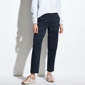 Vince Washed Stretch-Cotton Pant